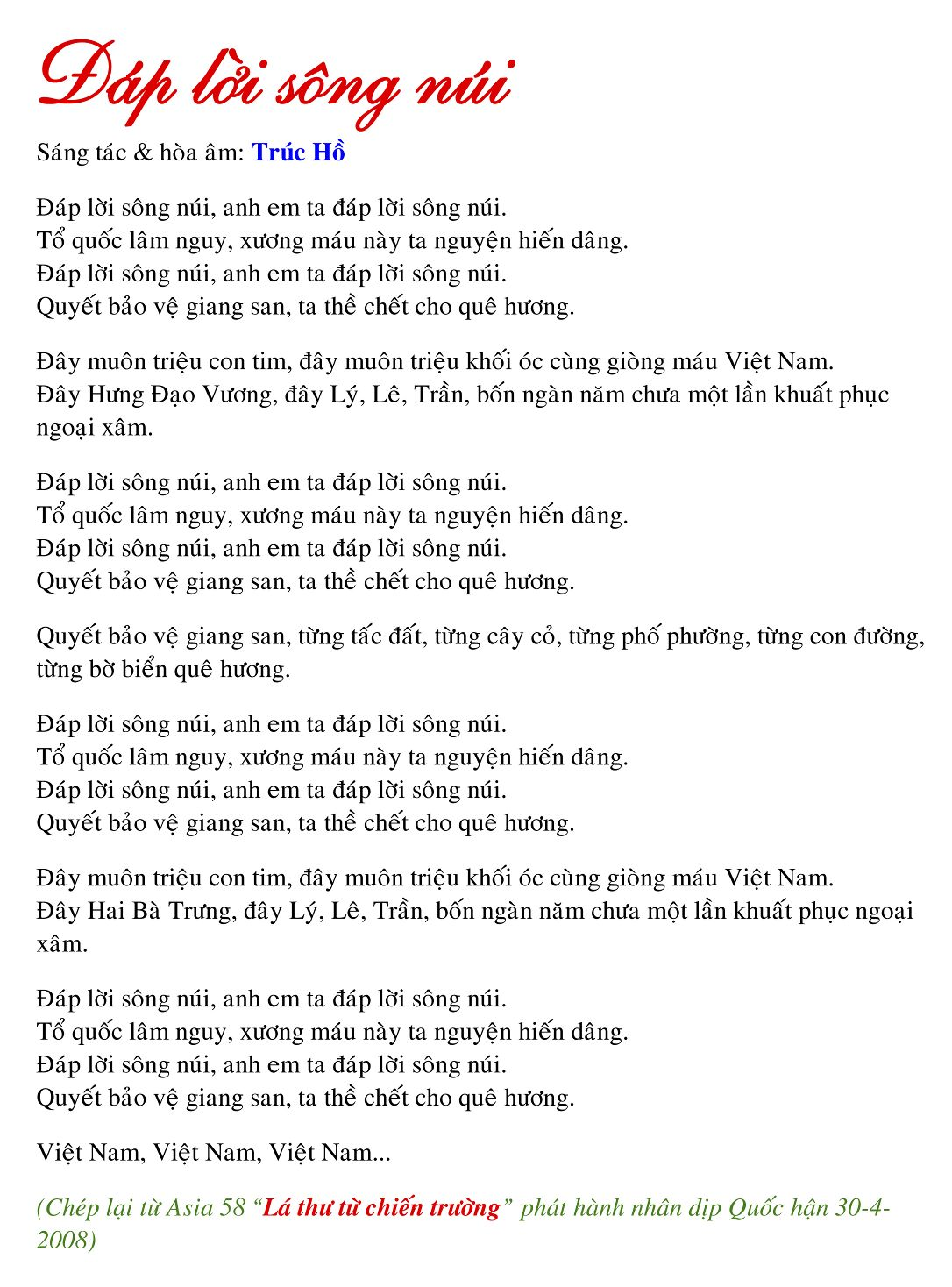 Dap loi song nui [MKV] [Dolby AC3] [2 channels] [48000Hz stereo] [1536Kbps] Demonoid preview 0